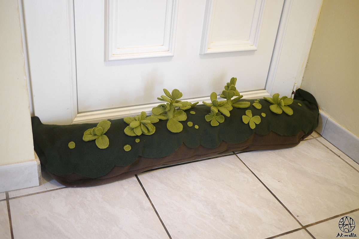 Boudin de porte en succulentes