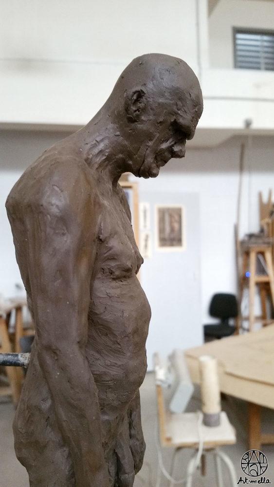 Sculpture homme